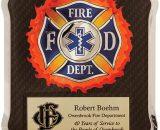 """Firefighter/Medical/EMT HERO Plaque Size: 10 1/2"""" x 13"""